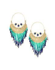 Pieces Naja Creols Drop Earrings
