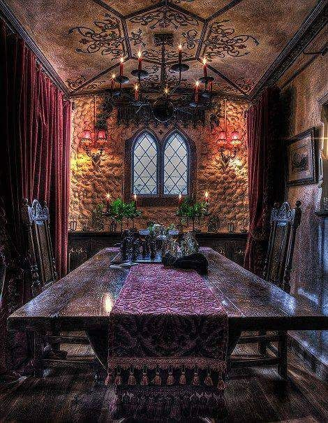 15 Rustic Renaissance Medieval Dining Rooms Part 1 Gothic