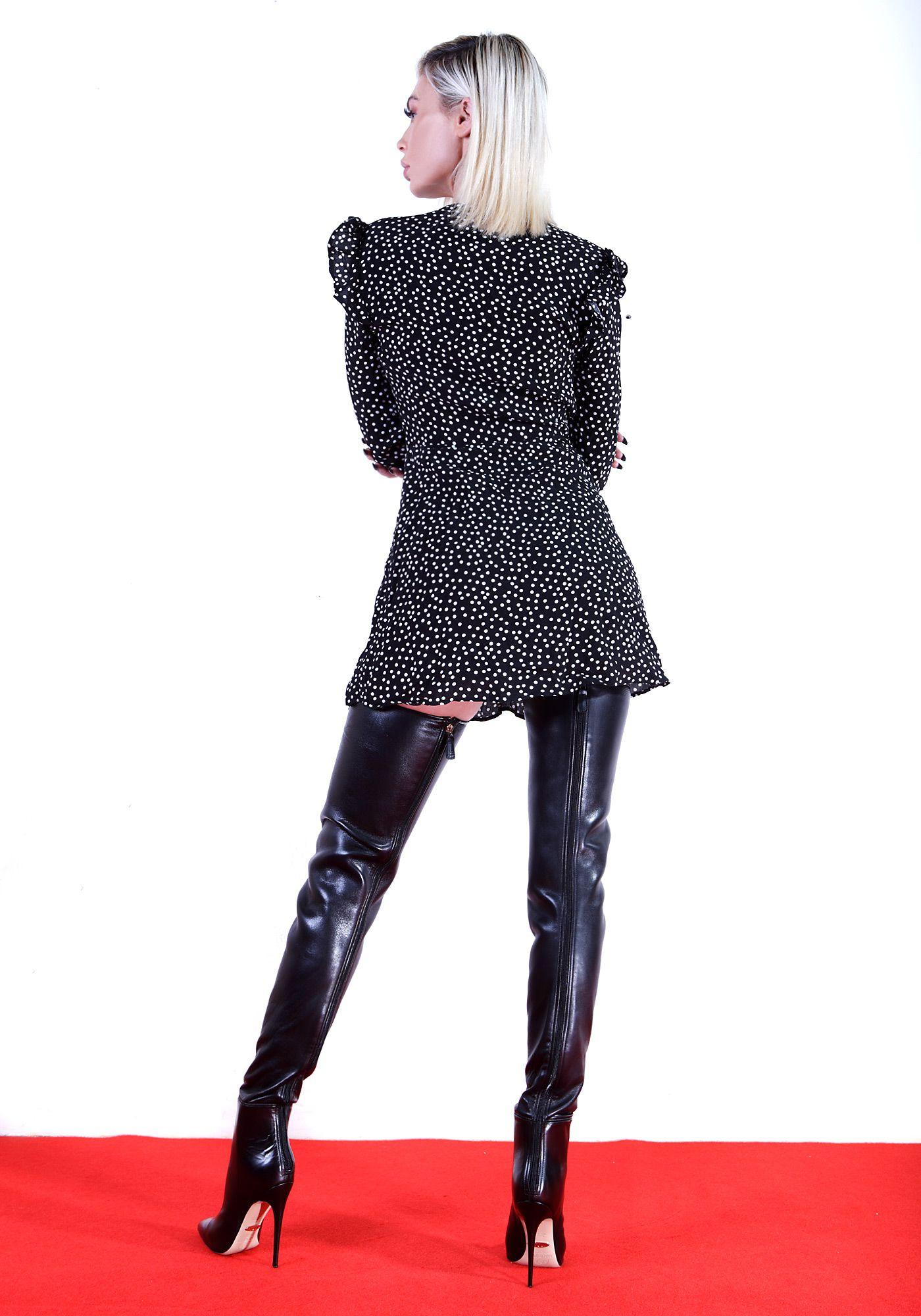 b14bdee9eee27 DIANA80 black in 2019 | Overknee Stiefel | Overknee stiefel ...