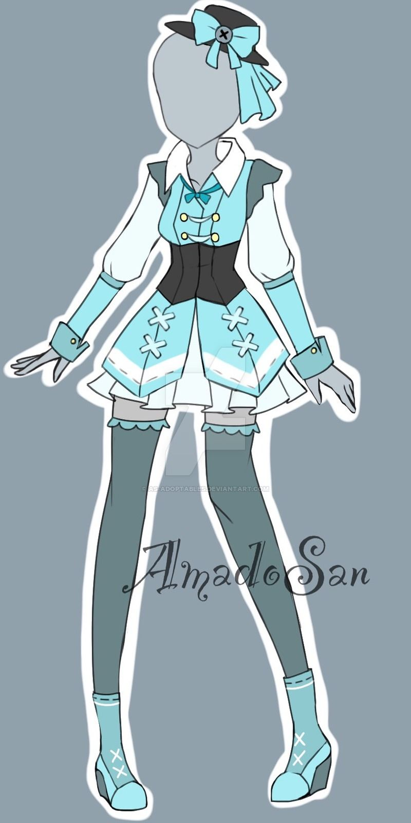 Victorian loli Outfit Adoptable CLOSED by AS-Adoptables.deviantart.com on @DeviantArt