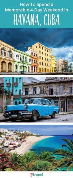 How to spend a 4 day weekend in Havana Cuba. What a great idea to visit Cuba for a weekend. It's so easy to do from the USA.. at the moment. Quick before you can no longer go! #visitcuba How to spend a 4 day weekend in Havana Cuba. What a great idea to visit Cuba for a weekend. It's so easy to do from the USA.. at the moment. Quick before you can no longer go! #visitcuba