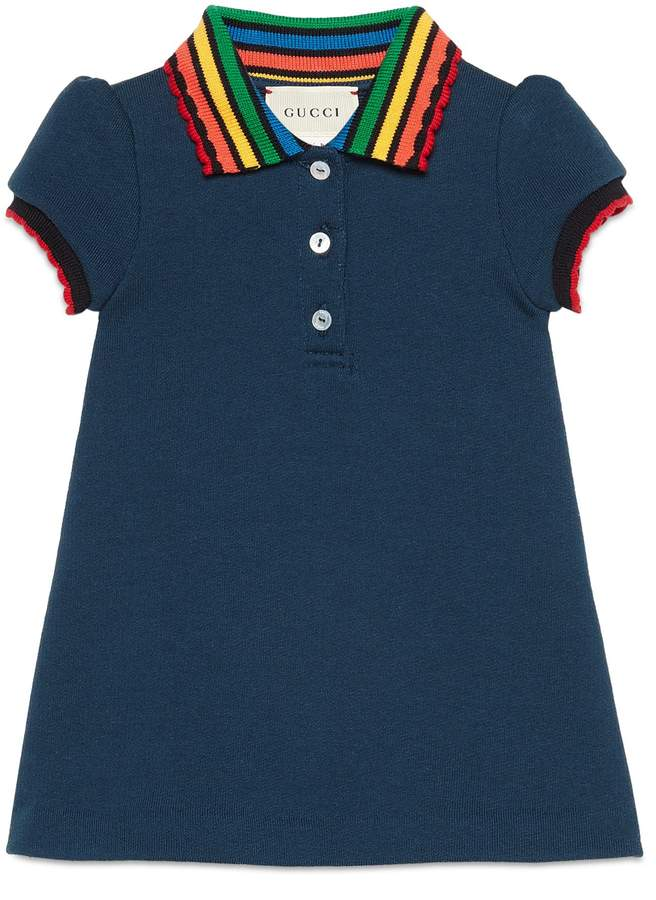 ae8791292 Gucci Fawns Polo Dress | Products in 2019 | Kids outfits girls, Baby ...