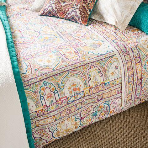linge de lit imprim ethnique linge de lit lit zara. Black Bedroom Furniture Sets. Home Design Ideas