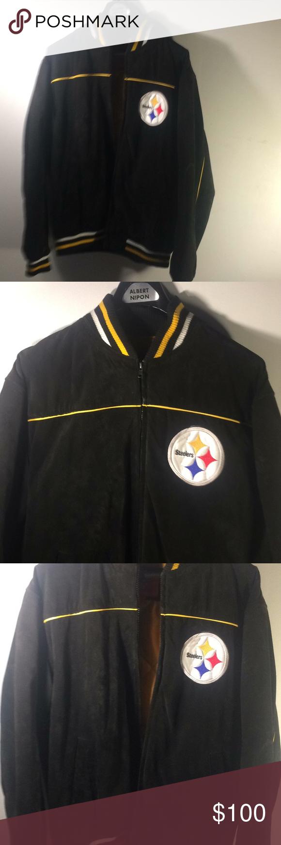 Men's large Pittsburgh Steeler starter jacket in 2020
