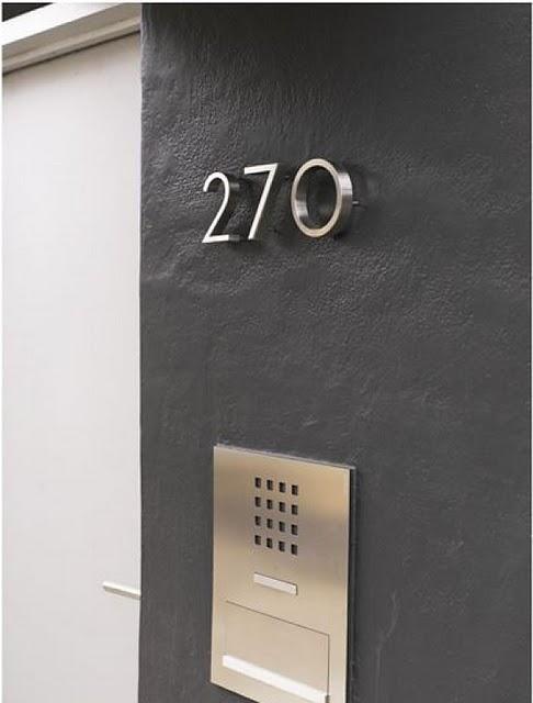 Timbre y n meros para la casa modernos villa detalles casas modernas casas y casas increibles - Timbre de casa ...