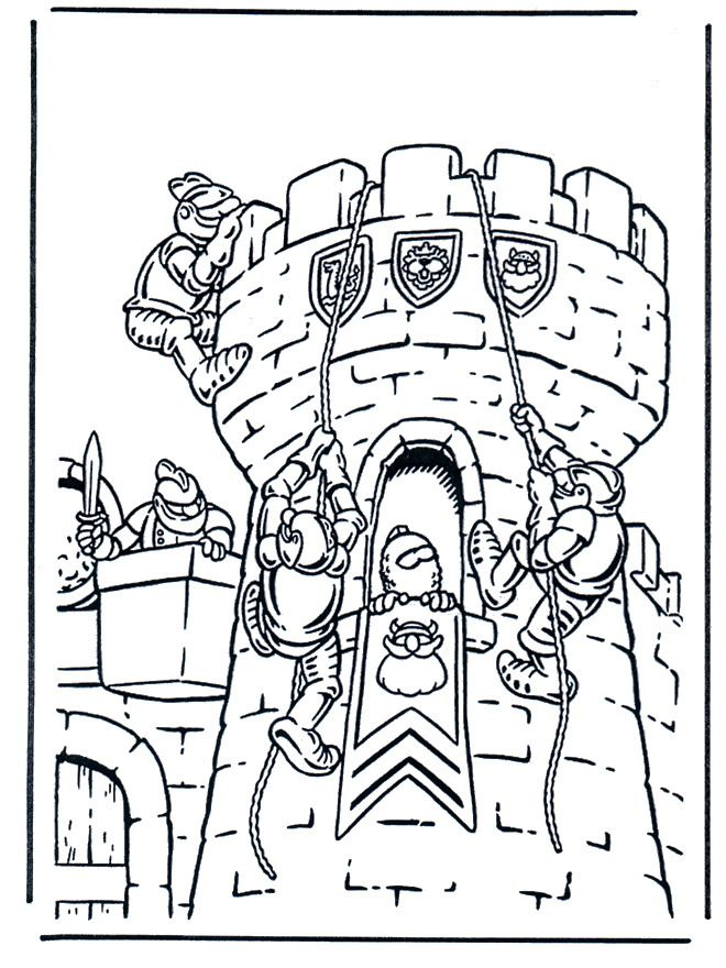 Castles 07 Castles Coloring Pages For Teens And Adults Con