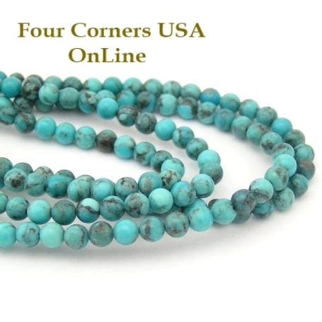 usa tq inch turquoise kingman rondelle pin green beads copper strands online