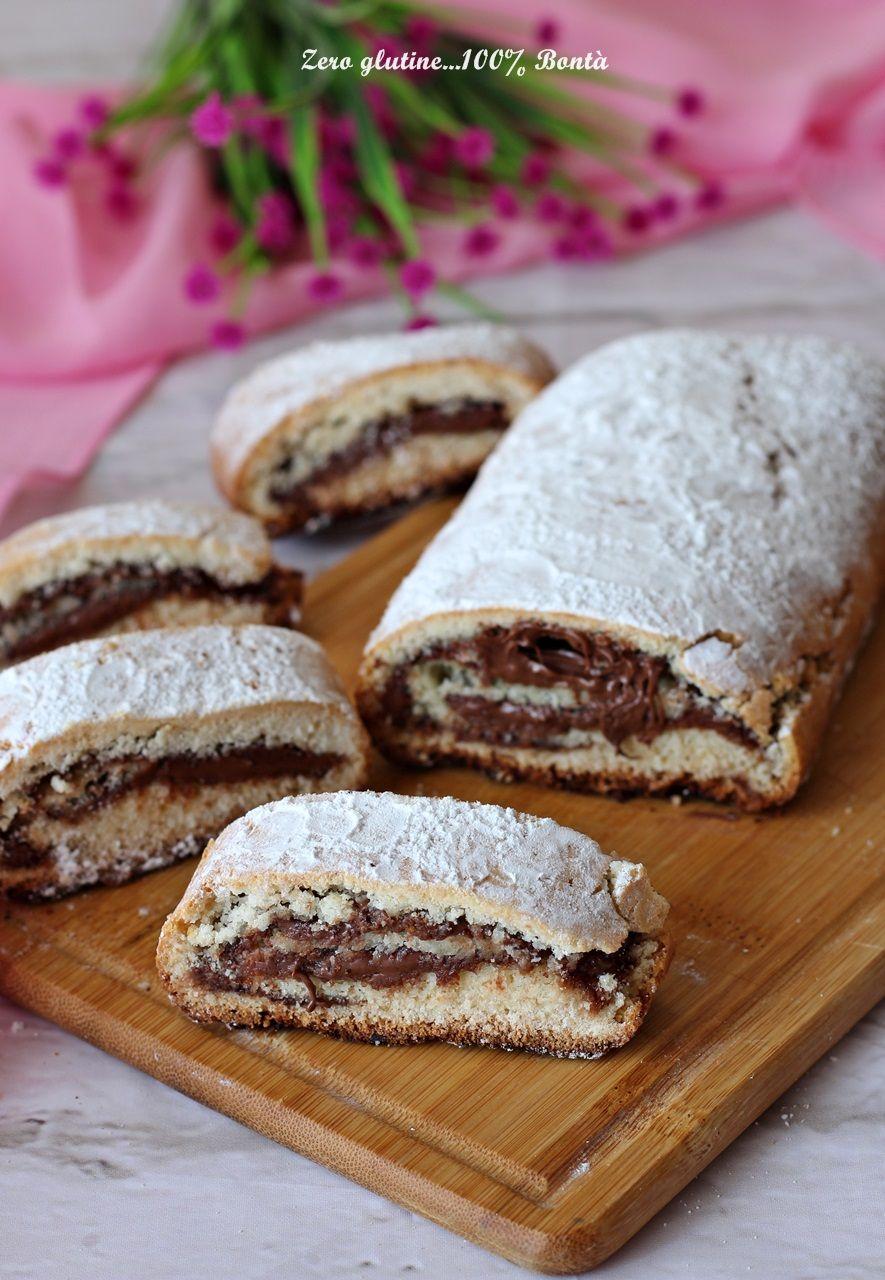 Rotolo Di Pasta Frolla Alla Nutella Senza Glutine Nutella Pasta