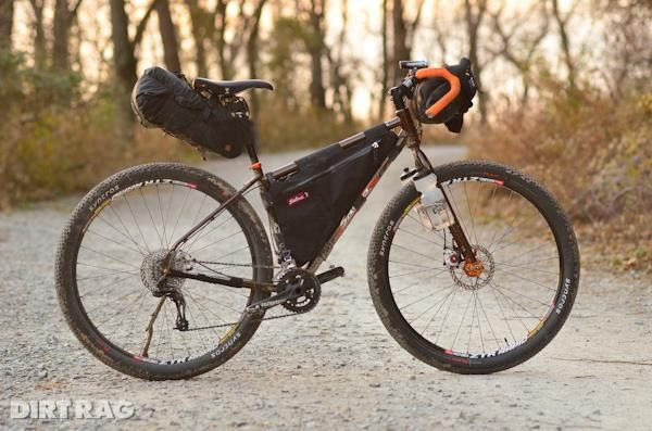 The Salsa Cycles Fargo Bicycle Trail Touring Bike