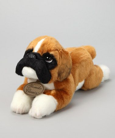Take A Look At This Boxer Dog Plush Toy By Russ Berrie On Zulily