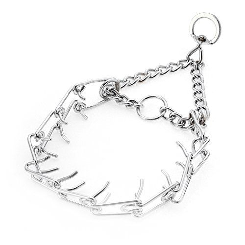 Petaz Dog Prong Collar Collar Adjustable Metal Steel Gear Pinch