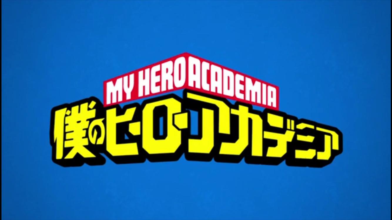 Logo Bnha My Hero Academia My Hero Hero Poster