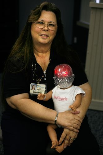 Learn how our #RealCare Shaken Baby infant simulator is