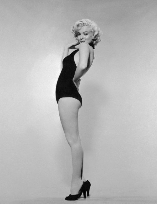 Marylin Monroe. My idol in beauty and self worth. One of the most beautiful women in the world.