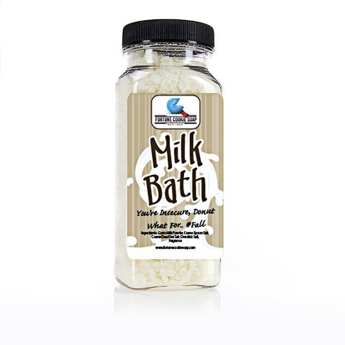 You're Insecure, Donut What For..#Fall Milk Bath (12.5 oz) #fallmilkbath