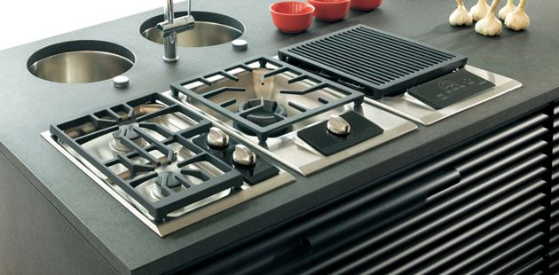 modern gas stove top. Wolf ICBCT15G/S Gas Cooktop - 381mm Modern Stove Top S