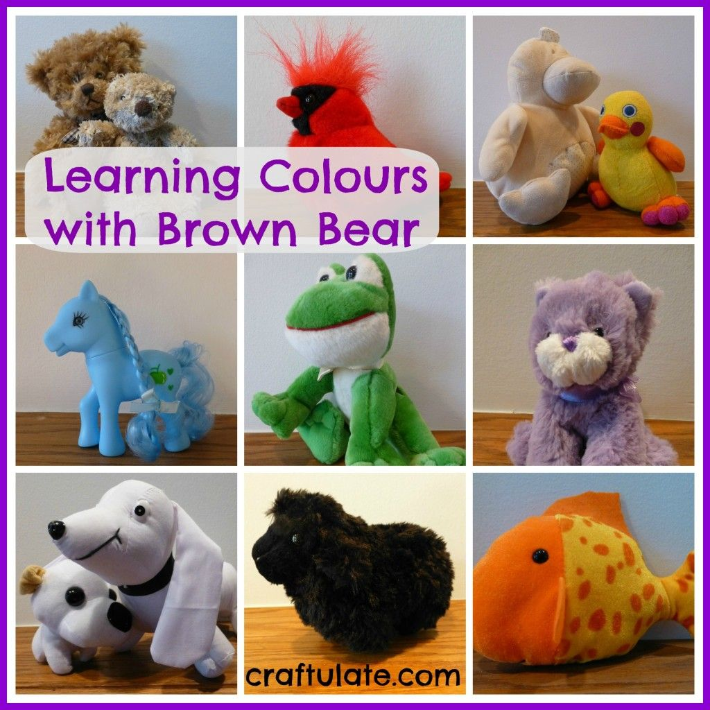 Learning Colours With Brown Bear