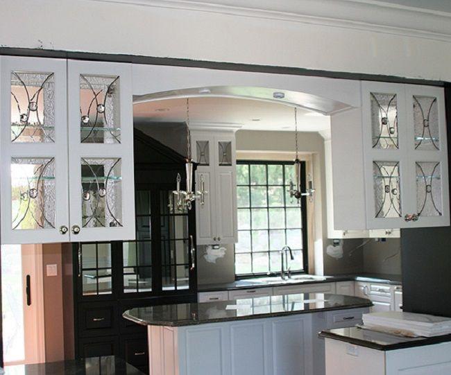 kitchen cabinet inserts   Glass kitchen cabinets, Kitchen ...