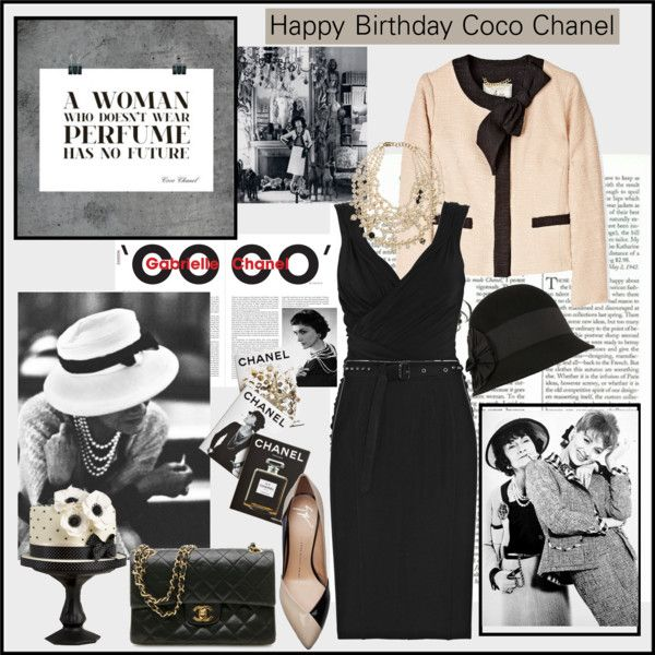 """Happy Birthday Coco Chanel"" By Emilymiller Liked On"