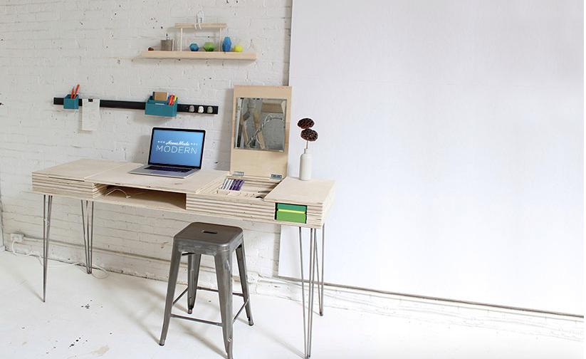 Eine Sehr Detaillierte Anleitung Um Einen Designer Schreibtisch