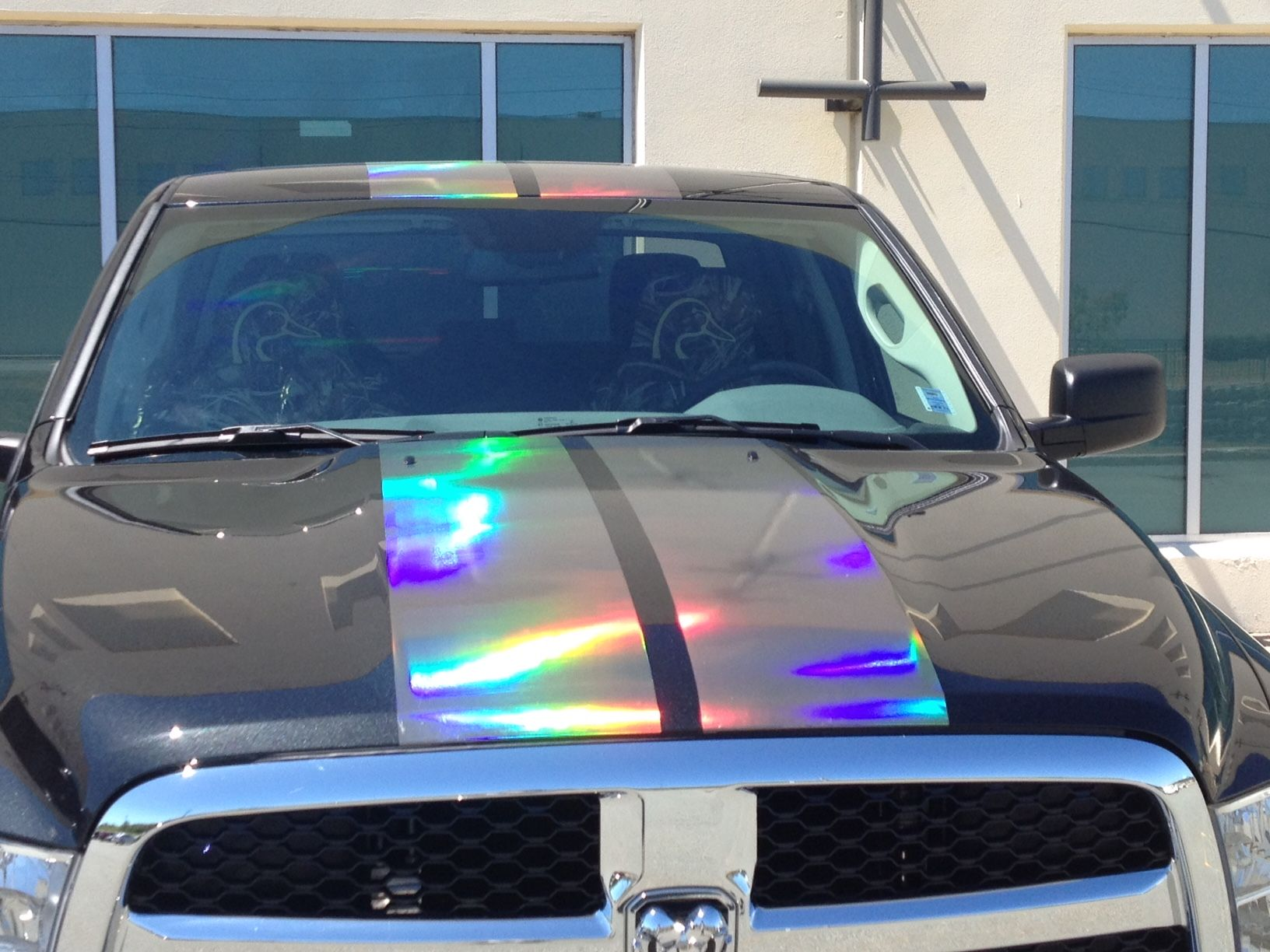 2016 DODGE RAM 1500 WITH CONCEPT VINYL FROM VVIVID VINYL