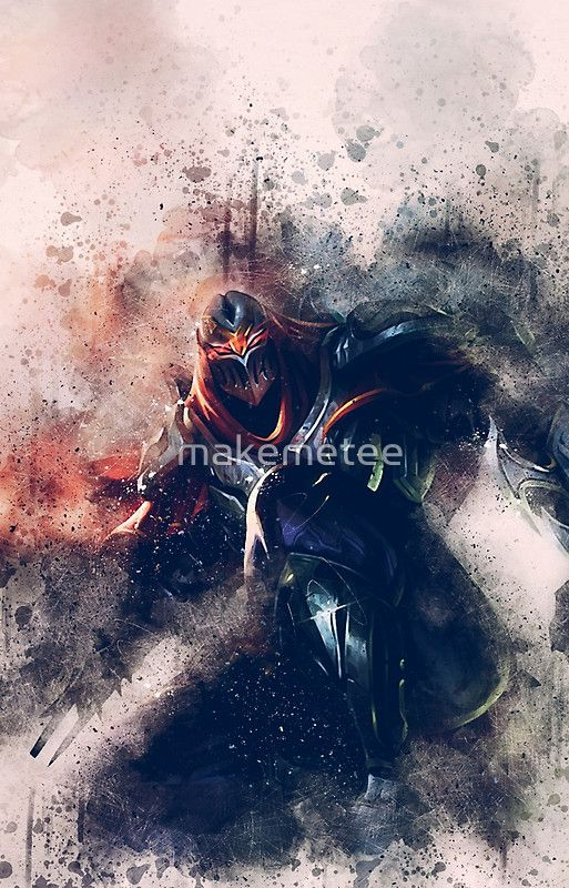 Zed master of shadows league of legends in 2019 fond ecran - Blood moon zed ...