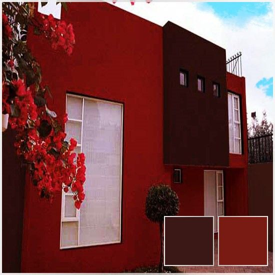 Colores para exteriores de casas 2016 christmas for Patios exteriores de casas