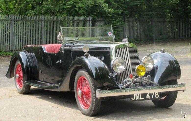 1937 Aston Martin 2 Litre 15 98 Four Seater Tourer Aston Martin Cars Aston Martin Classic Aston Martin