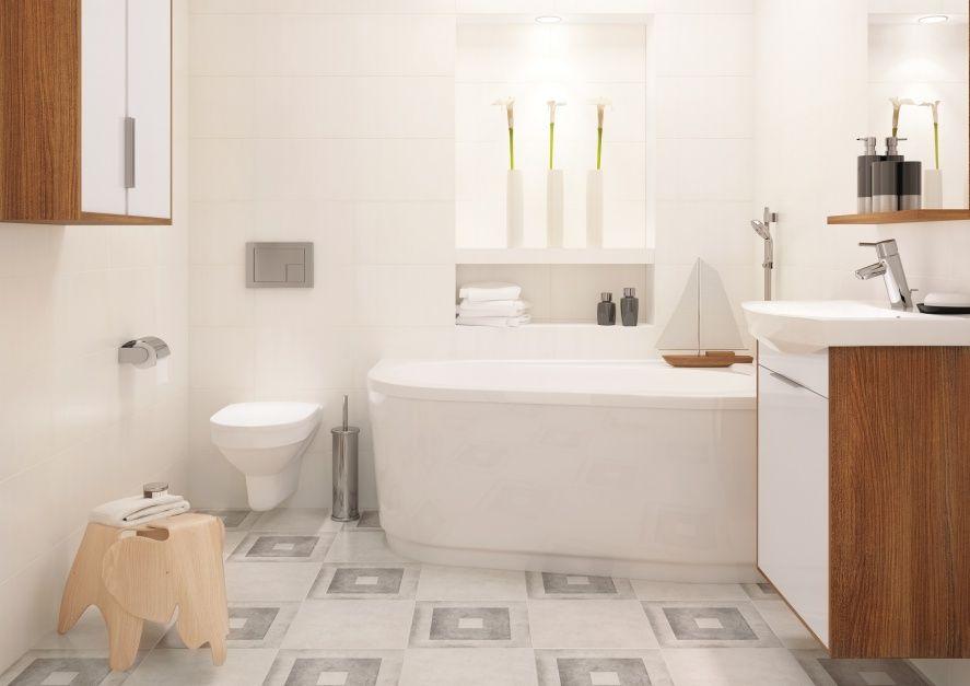 Materialy Biale Plytki 10 Pomyslow Do Malych Lazienek Lazienka Pl Amazing Bathrooms Bathroom Home