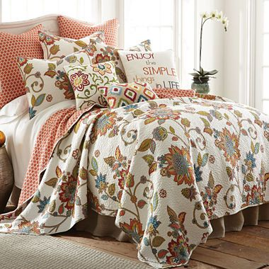 Jcpenney Com Levtex Pomona Floral Quilt Set For My