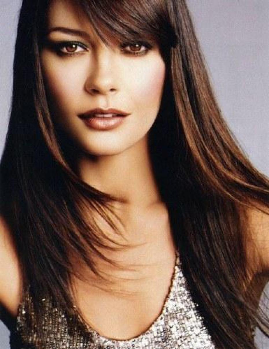 catherine zeta jones | rich brunette hair color | catherine