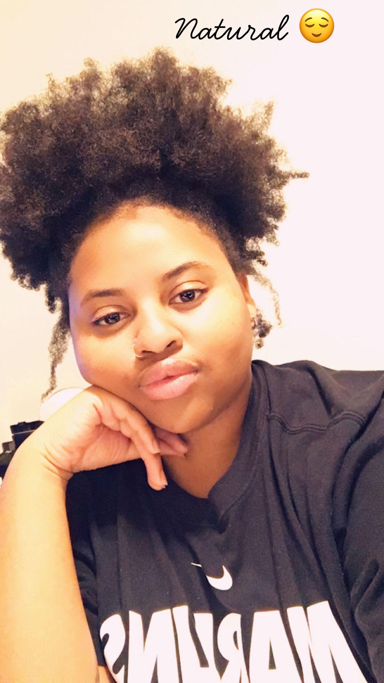 Effortless puff / 4c hair Black natural hairstyles, Hair