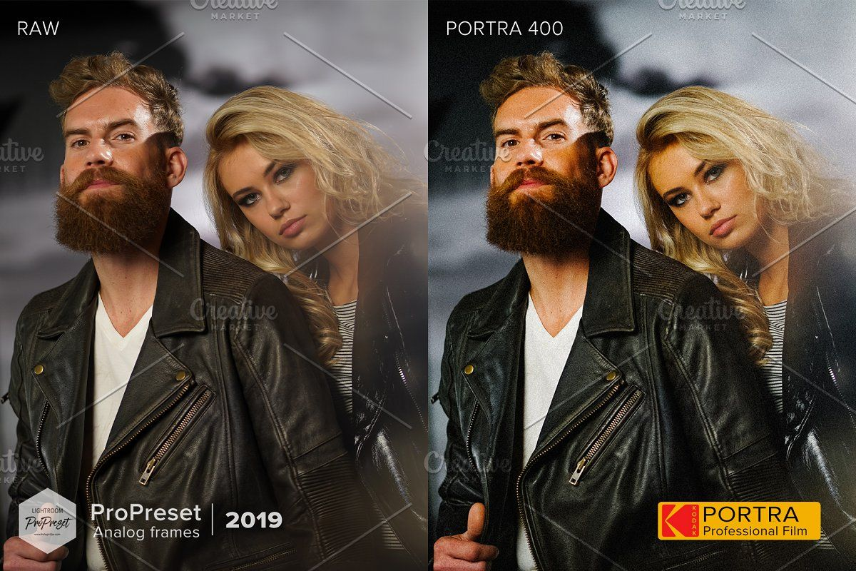 Portra 160 lightroom preset