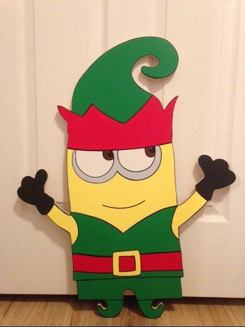 Christmas Minion decorations handmade