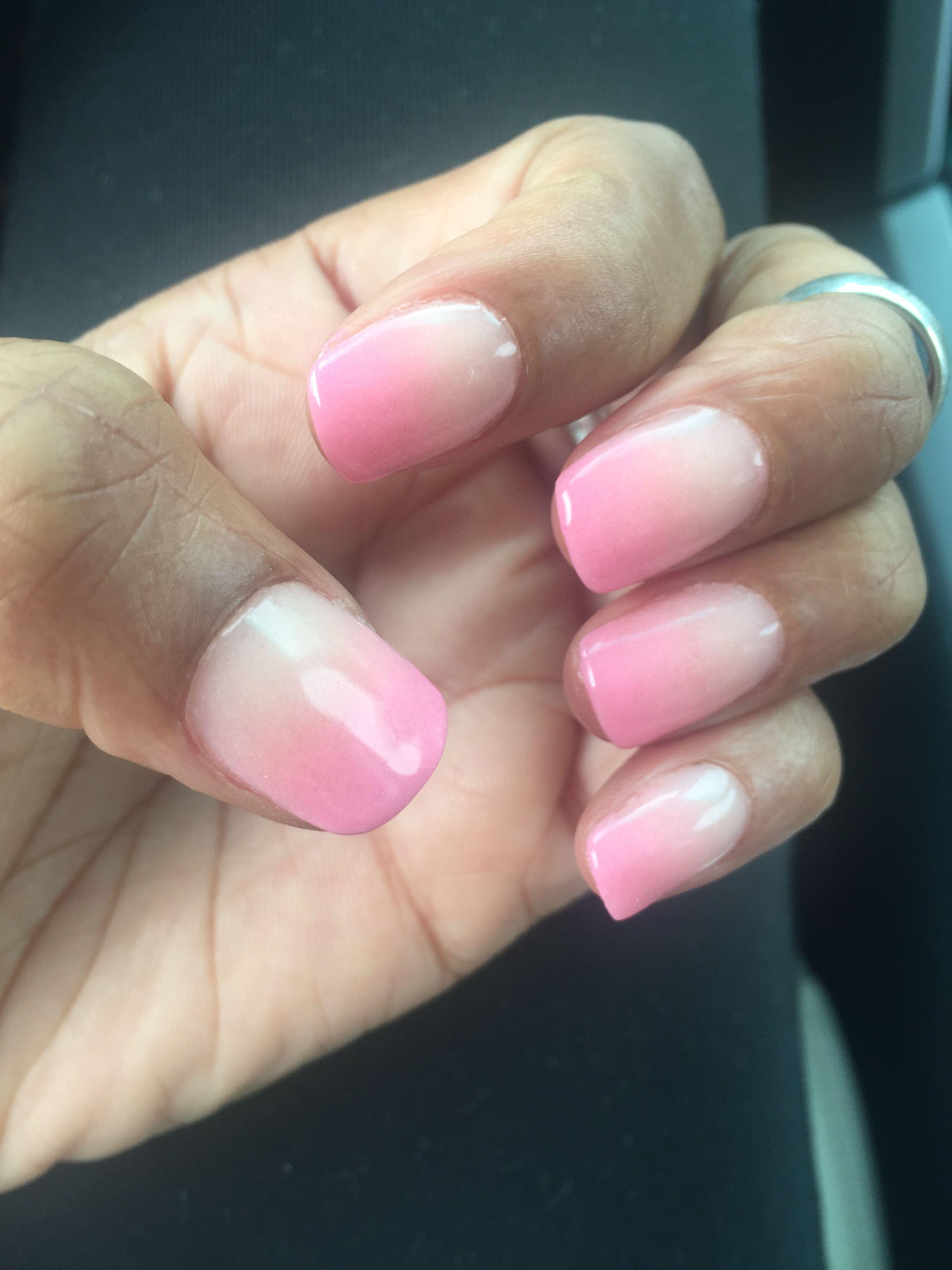 "my nail tech nailed my sns ombre ""nails & spa"" duluth | nails"