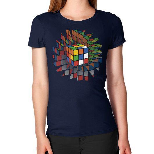 Rubik's Cube Women's T-Shirt