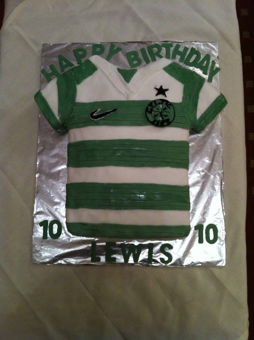 Glasgow Celtic birthday cake Glasgow Celtic Football Pinterest