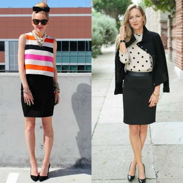 55 Amazing Outfits With Black Pencil Skirts  f53ecb1ef