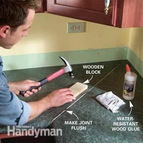 Install A Laminate Kitchen Countertop Laminate Kitchen Kitchen Countertops Countertops