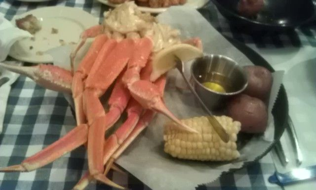 Great eats at Dirty Dicks in OBX, Kitty Hawk.