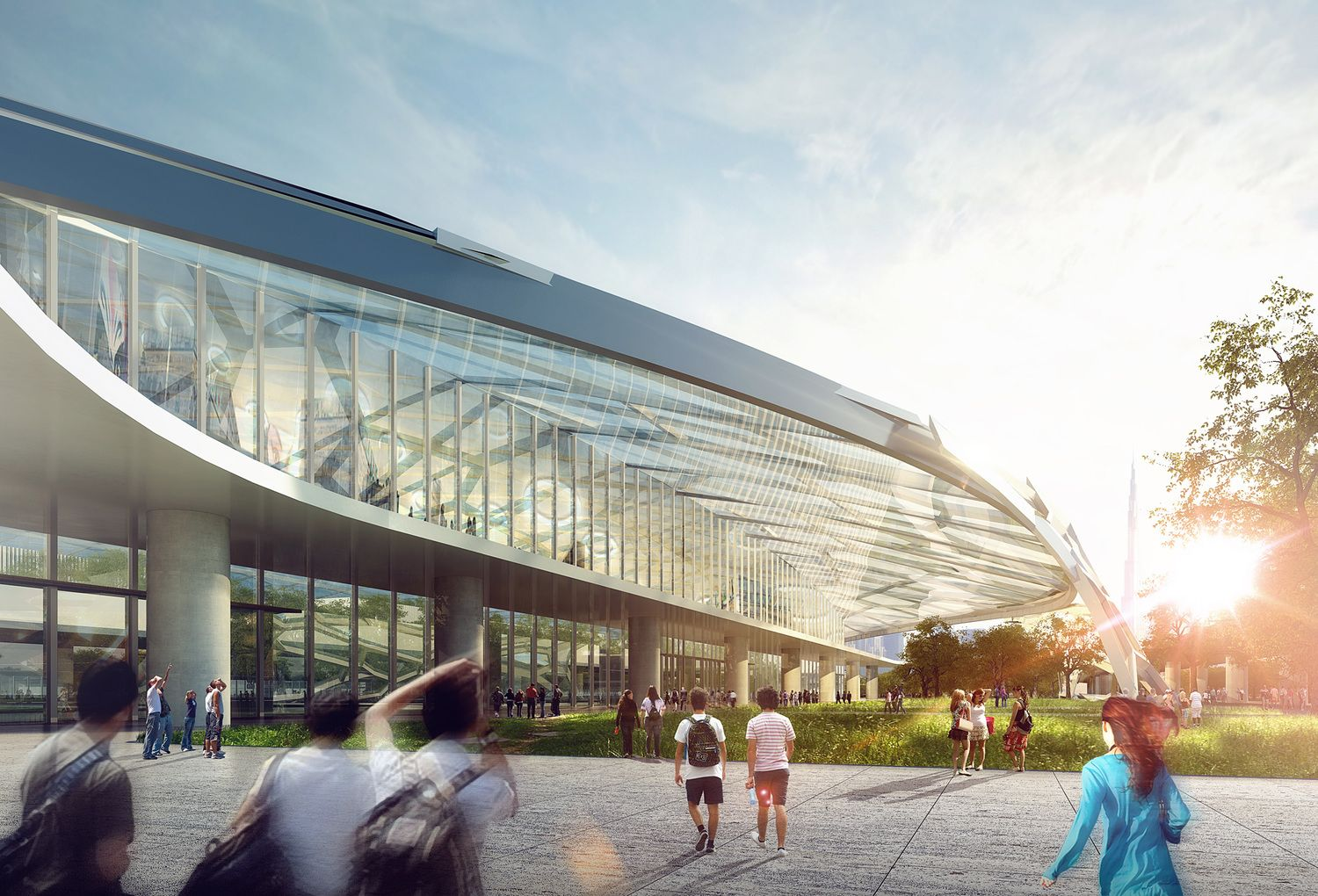 A Glimpse Of The 2016 Fentress Global Challenge Airport Of The Future Shortlist Airport Design Architecture Architecture Student