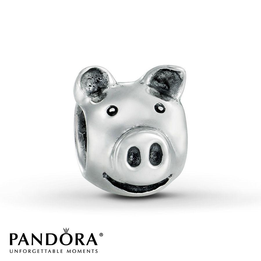 abalorio cerdo pandora