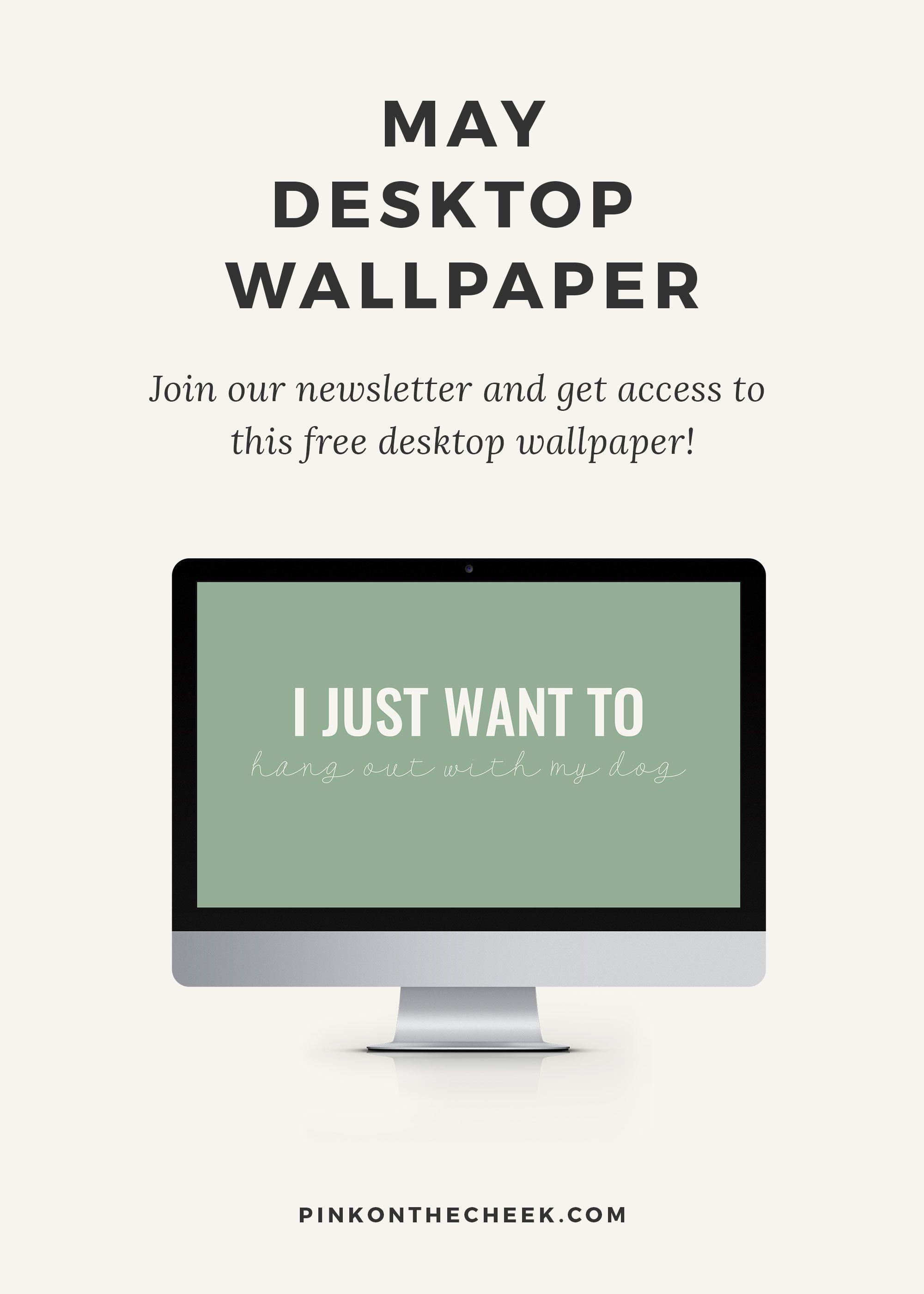 May Desktop Wallpaper Freebie