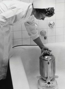 The first jacuzzi--1956! It was used to treat arthritis.