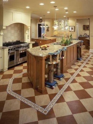 Wood - Kitchen Flooring: 8 Popular Choices - Bob Vila & Wood - Kitchen Flooring: 8 Popular Choices - Bob Vila | Kitchen ...