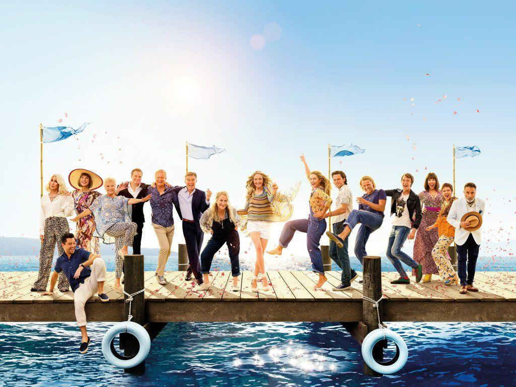Mamma Mia Here We Go Again Movie 2018 Wallpaper Movie