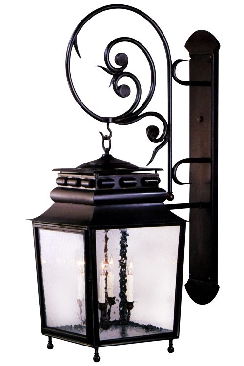 jackson wall mount lantern with bracket and scroll wall on wall mount id=47109