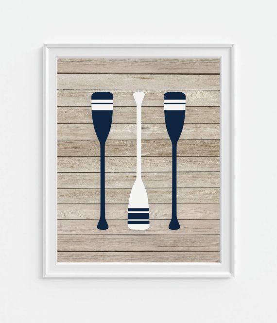 Boat Oars Art Print, Rafting Oars, Ship Oars, 5x7, 8X10, 11x14 Sailing  Oars, Nautical Wall Art, Boys Nursery Wall Decor, Sailboat Oars | Nautical  Wall Art, ...