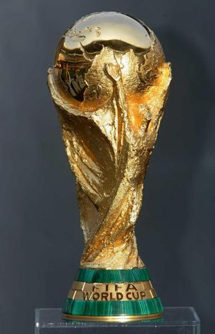 El Premio De La Copa Mundial Taca Da Copa Taca Copa Do Mundo Trofeu Futebol
