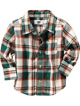 Plaid Flannel Shirt for Baby | Old Navy
